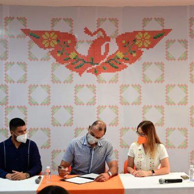 Firma Víctor Cervera compromiso con la transparencia