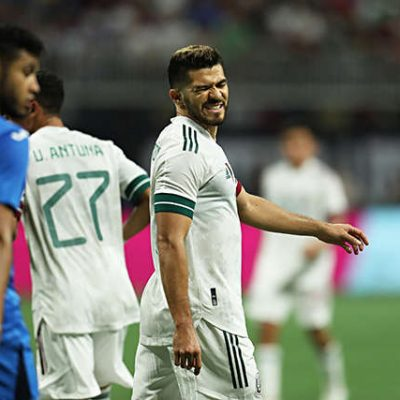 Sin gol en tres partidos con la selección mexicana, pero ven a Henry Martín en el Tri olímpico