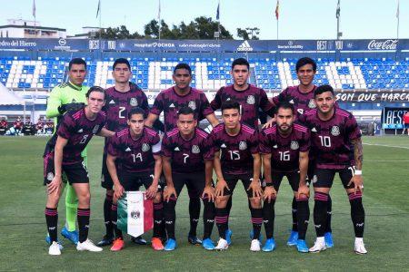 El yucateco Marcel Ruiz participa en la victoria de la selección mexicana Sub-23