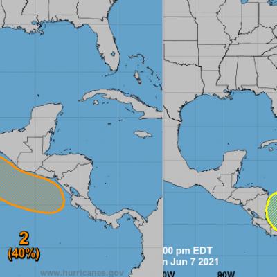 Prepárate para una semana lluviosa: en puerta fenómenos ciclónicos