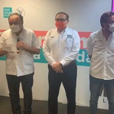 El PRI da como ganador en Mérida a su candidato Jorge Carlos Ramírez Marín