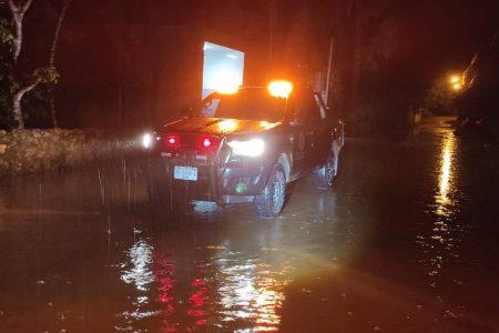 Realizan operativos en Tekax para proteger a la población ante las fuertes lluvias
