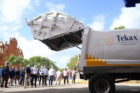 Tekax moderniza su servicio de recolección de basura