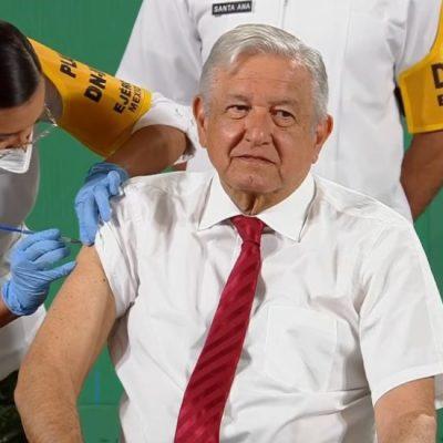El presidente López Obrador ya tiene completo su esquema de vacunación contra Covid-19