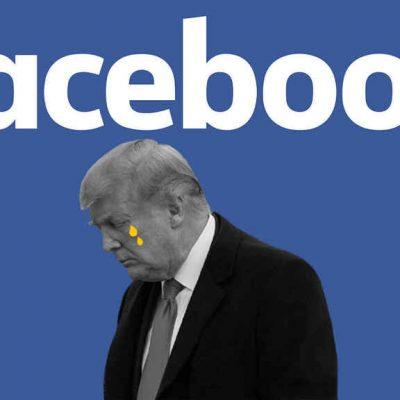 Facebook suspende dos años la cuenta de Donald Trump