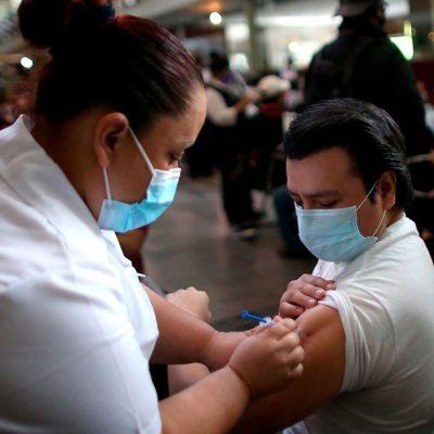 Mañana comienza en Mérida la vacunación Covid-19 para personas de 40 a 49 años