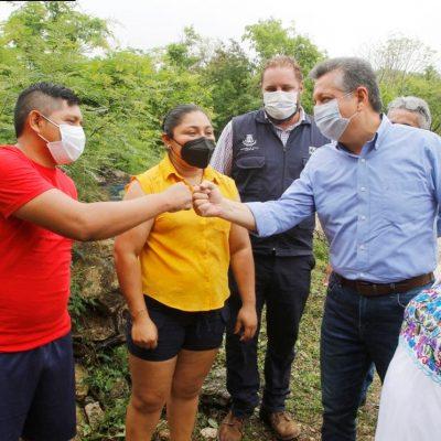 Sedatu y el Ayuntamiento realizan obras conjuntas en Mérida