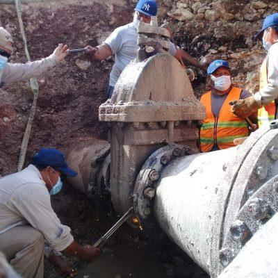 La Japay garantiza el abasto de agua a 140 colonias y fraccionamientos de Mérida