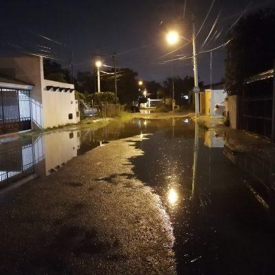 Remata el domingo con aguacero y tormenta eléctrica en Mérida
