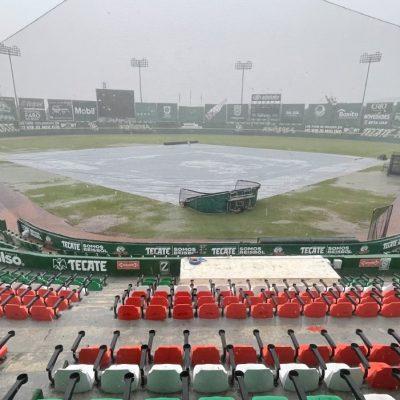 Los Leones ya no perdieron… gracias a la lluvia: mañana otra doble cartelera