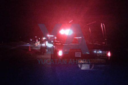 Tragedia en la carretera Mérida-Valladolid: atropellan a ciclista de la tercera edad