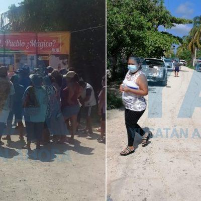 Vecinos de Sisal denuncian falta de atención a problemas del puerto