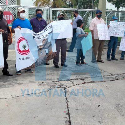 Funcionarios federales se reúnen con ejidatarios de Chablekal