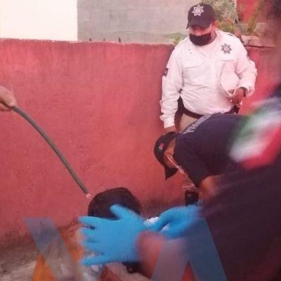 Otra antorcha humana: joven ebrio se prende fuego delante de su esposa