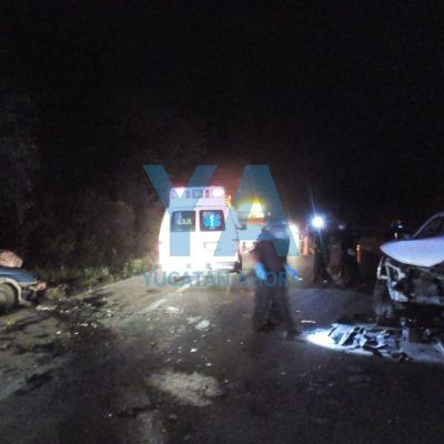Trágico accidente en la Mérida-Cancún: fallece prensado un taxista