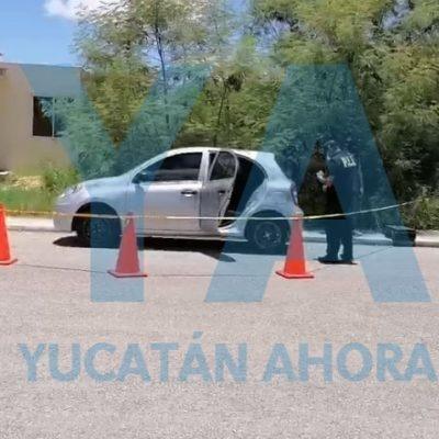 Localizan en Paseos de Opichén vehículo con reporte de robo