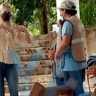 Verónica Camino 'obliga' a que la vacunen en Cantamayec