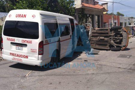 Desastroso accidente en la Mercedes Barrera
