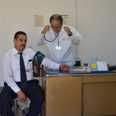 SCT emite más de 100 mil constancias médicas de aptitud psicofísica