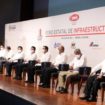 Gobierno de Yucatán destinará este año 2,000 mdp en proyectos de obra pública productiva