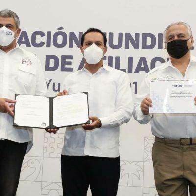Mauricio Vila solicita afiliación del Consejo Consultivo de Turismo de Yucatán a la OMT