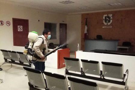 Desinfecciones profundas permanentes y fumigaciones en edificios del Poder Judicial