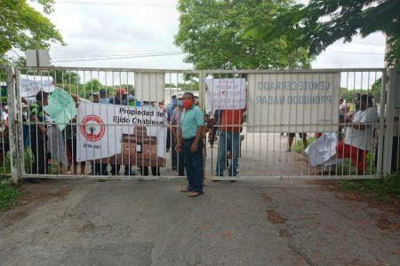 Ejidatarios de Chablekal bloquean Dzibilchaltún; el INAH lamenta la protesta