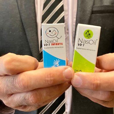 Científicos mexicanos lanzan NasOil, un producto que ayuda en el combate al Covid-19
