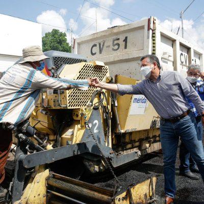 Construcción y repavimentación de calles, prioridades del Ayuntamiento, señala el alcalde Alejandro Ruz