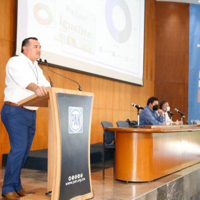 Los grandes proyectos se construyen con la participación ciudadana: Renán Barrera