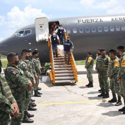 Llega a Yucatán nuevo cargamento con 24,400 vacunas Covid-19
