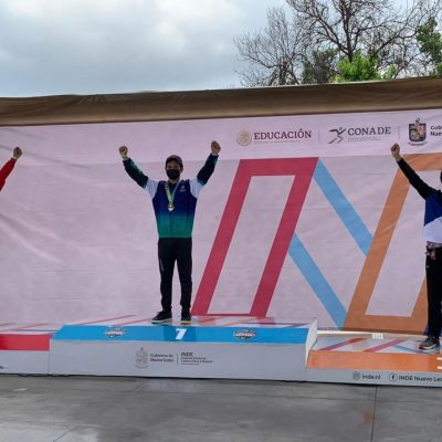 El joven arquero Elías Reyes Cravioto aporta oro y plata al medallero de Yucatán en los Juegos Conade 2021