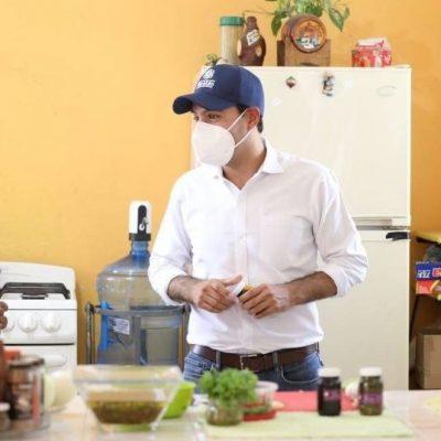 Joven emprendedor de Tekax sale adelante con el apoyo del Gobernador Mauricio Vila