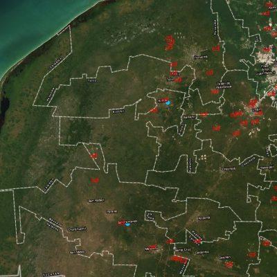 Denuncian furtiva construcción de granjas porcícolas en Kinchil y Celestún