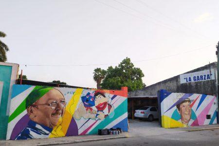 Pintan mural en homenaje al teatro regional yucateco