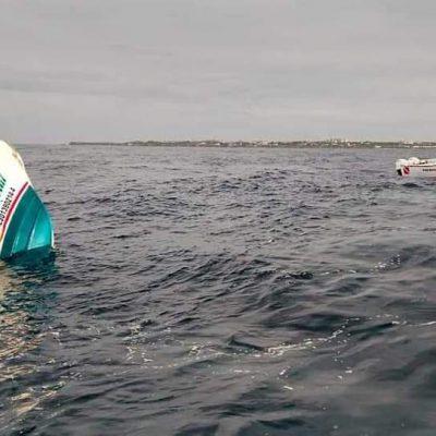 De Yucatán la familia que viajaba en embarcación que se hundió frente a Isla Mujeres: tres fallecieron