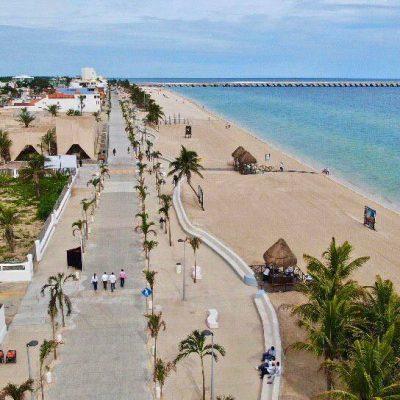Mauricio Vila entrega la segunda etapa de modernización en el Malecón de Progreso