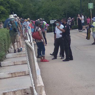 Artesanos de Pisté piden que los dejen vender dentro de la zona arqueológica de Chichén Itzá