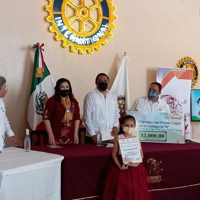 Premian a ganadores del Concurso Literario Infantil 'Había una vez un Derecho'