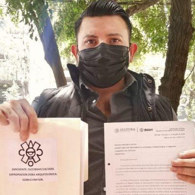 INAH solicita a Sedatu expropiación parcial de Dzibilchaltún