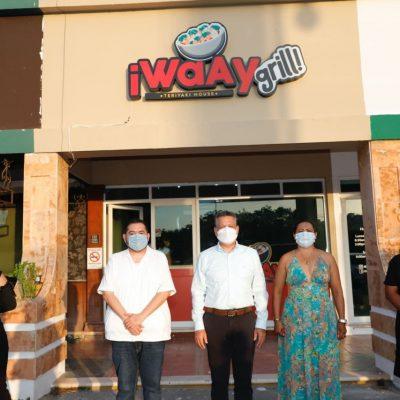 Inauguran Waay Grill en Altabrisa: comida saludable con gran sabor