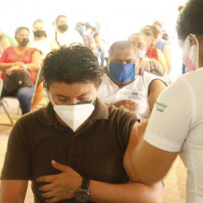 Arranca nueva etapa de vacunación contra el Covid-19 en 42 municipios de Yucatán