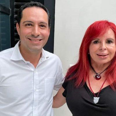 Mauricio Vila se reúne con Layda Sansores, gobernadora electa de Campeche