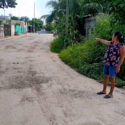 Tras la derrota, se esfuma promesa del priista Mario González de reparar calles en Tizimín