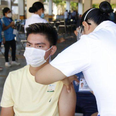 El 31 de julio comienza la vacunación para personas de 18 a 29 años en 10 municipios de Yucatán