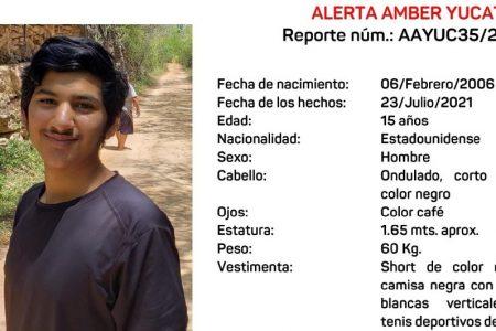 Se extravía en Mérida un adolescente estadounidense