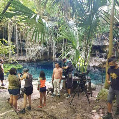 El tiktoker Luis Felipe Cobá participa en documental internacional dando difusión a la lengua maya
