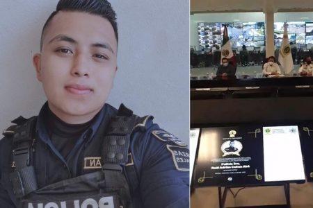 Raúl Adrián Couoh Aké es un héroe: Luis Felipe Saidén Ojeda, secretario de Seguridad Pública