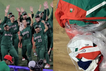 Escándalo por jugadoras de sóftbol de México que tiraron a la basura sus uniformes olímpicos