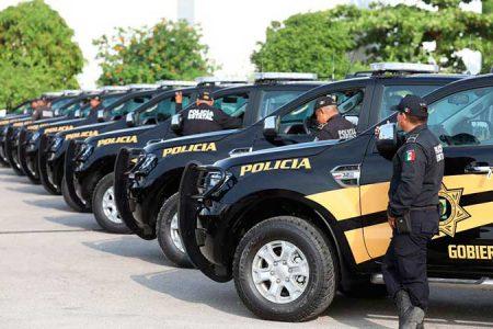 Camioneta de la SSP colisiona con una motocicleta en el sur de Mérida